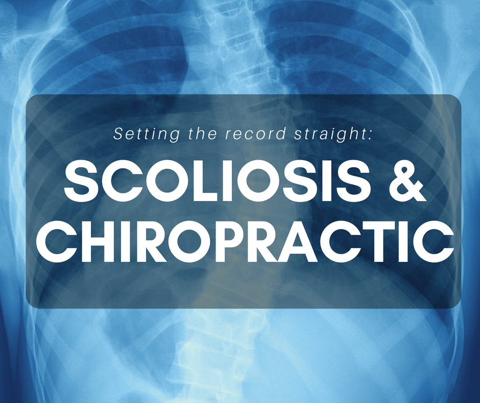 Setting the record straight: Scoliosis and Chiropractic
